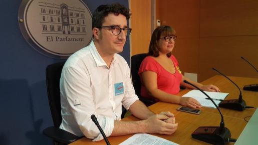 El diputado de MÉS per Mallorca, Antoni Reus.