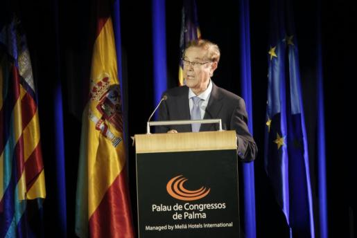 Gabriel Escarrer durante su intervención.
