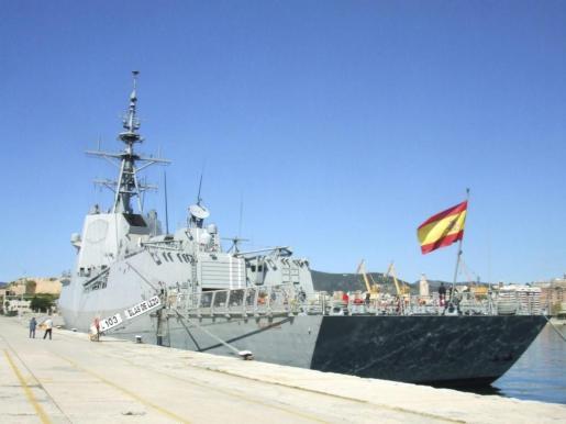 La fragata 'Blas de Lezo' forma parte de una clase con cinco unidades.
