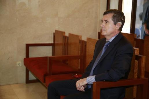 Jaume Matas, en el banquillo de los acusados.