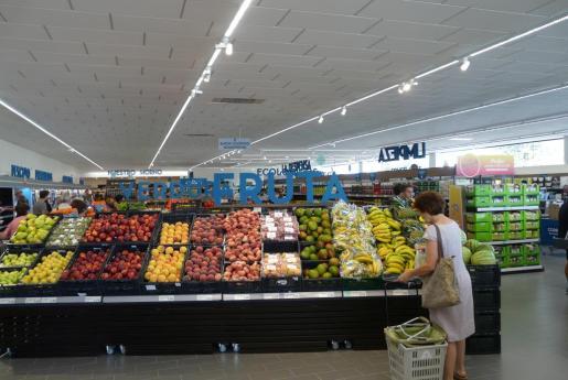 Imagen de un supermercado Aldi en Campos.