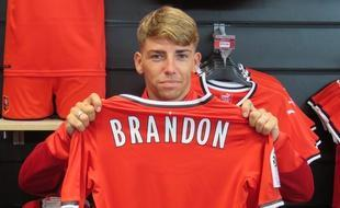 En la imagen Brandon, que sigue sin estrenarse con el Rennes francés.