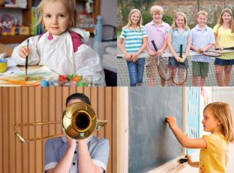 Las actividades extraescolares, fuente de beneficios