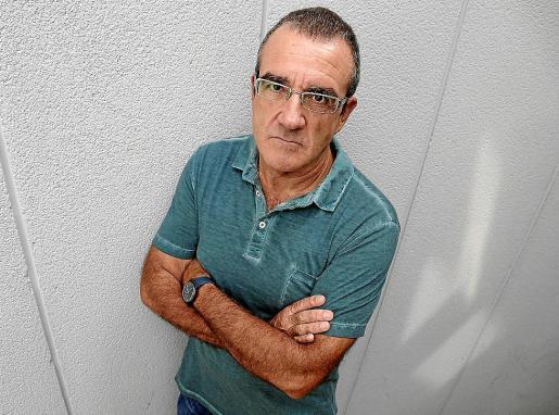 Juan Pedro Yllanes el sábado en Palma.