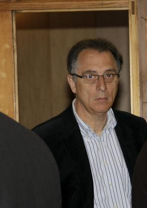 El ex gerente del Cilma, Eugenio Losada, hoy en los juzgados de Palma.
