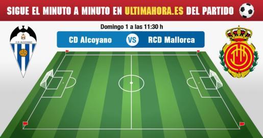 Alcoyano-Mallorca, en directo