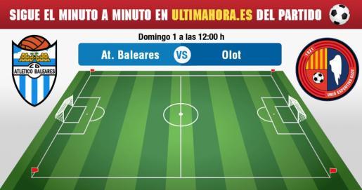 Atlético Baleares-Olot en vivo
