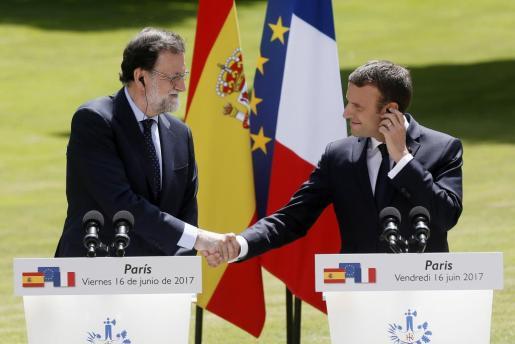 El mandatario francés ha reafirmado que «no tiene más que un solo interlocutor, que es Rajoy».