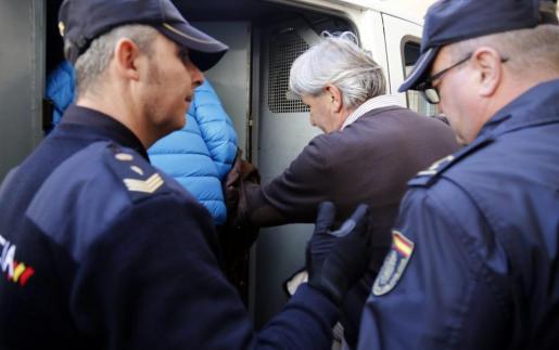 Cursach y Sbert el día que pasaron a disposición judicial.