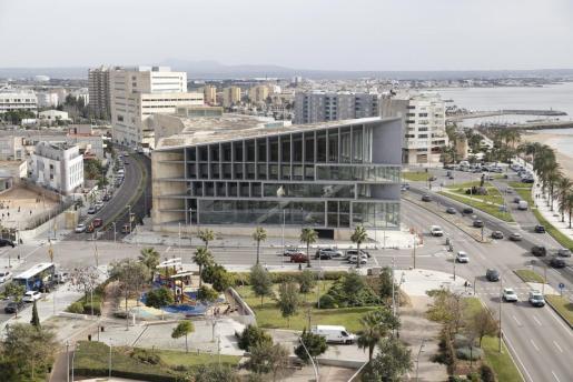 Vista del Palacio de Congresos.