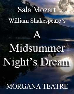 Cartel de 'Sueño de una noche de verano' en el Auditórium de Palma.