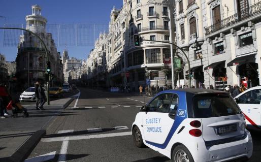 La Gran Vía de Madrid será peatonal desde Navidad.