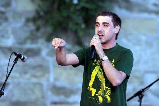 Mateu Matas 'Xuri' es uno de los glosadors invitados a este combate.