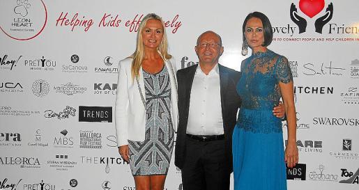Christina Duxa, Michael Popp y Natalia Klitscho.