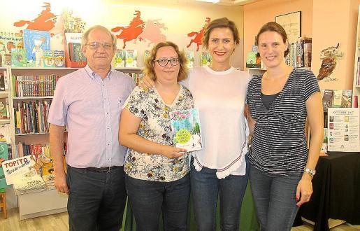 Francesc Sanchís, Margalida Ramón, Sol Aguirre y Nuria Miranda.