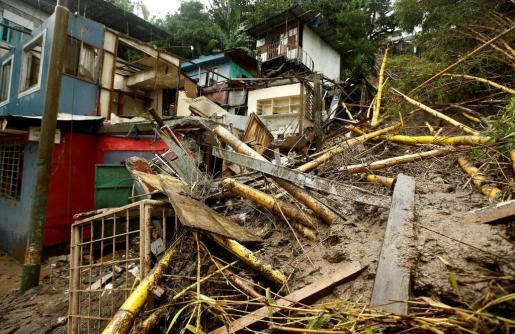 Efectos de la tormenta tropical Nate en Costa Rica.