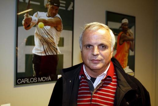 Toni Ferragut, presidente de la Federación Balear de Tenis.