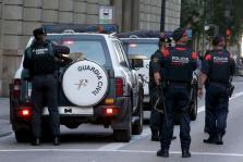 Guardia Civil en el 1-O