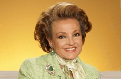 La actriz y presentadora de televisión Carmen Sevilla.