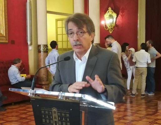 El portavoz de Ciudadanos en el Parlament, Xavier Pericay.