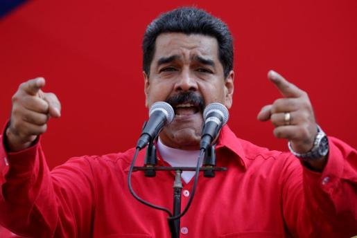 Imagen de archivo del presidente venezolano Nicolás Maduro.