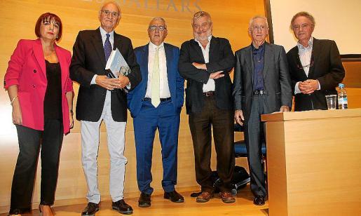 Rafi Sánchez, Bartomeu Rotger, Gabriel Garcies, Bernat Sureda, Pere Carrió y Gaspar Nicolau.