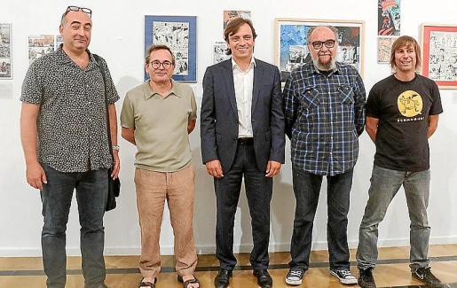 Jaume Vaquer, Pere Joan, Francesc Miralles, Tatúm y Álex Fito.