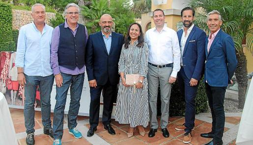 Christian Donicht, Jan Hinter, Miquel Isern, Liliana García, Andreas Pfortner, Marcel Henneke y Jesús Castro.
