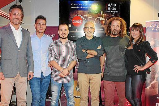Gabriel Mulet, Bruno Sotos, Jalo, Miguel Ángel Sancho, Miki Jaume y Beatriz Díez Mayans.