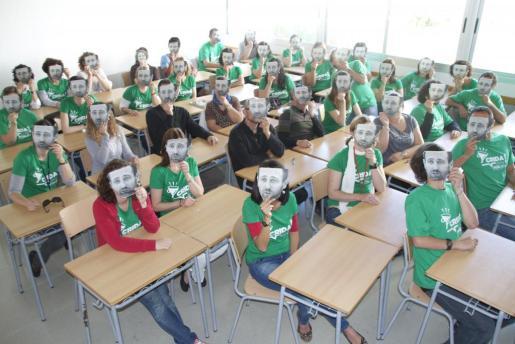 La comunidad educativa de Baleares no sólo se movilizó contra el Tratamiento Integrado de Lenguas (TIL). Los docentes vieron recortados sus derechos sociolaborales y en su defensa centraron también sus protestas contra José Ramón Bauzá.