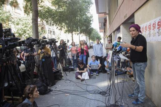 La CUP lamenta que Puigdemont no le haya consultado el contenido de la carta al Gobierno.