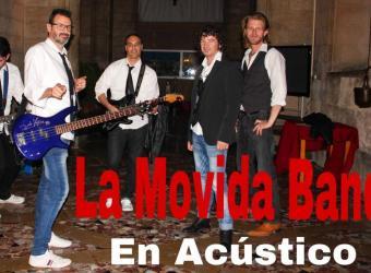 La Movida viaja en el tiempo a los 80 y 90 con la música de La Movida Band