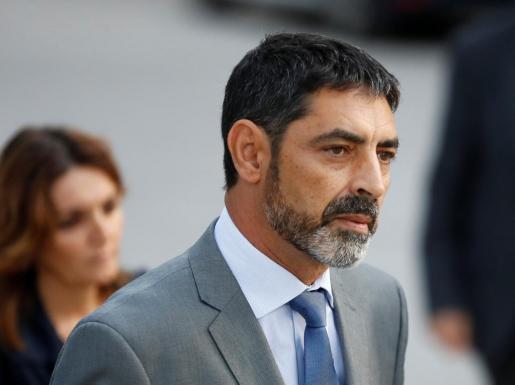 Josep Lluis Trapero ha declarado este lunes en la Audiencia Nacional y la Fiscalía solicita prisión sin fianza por su inacción en el 1-O.