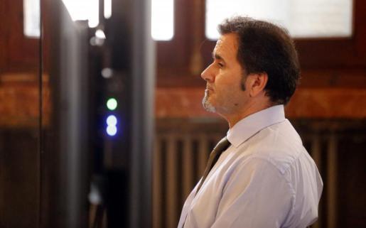 El acusado del crimen de Porto Cristo durante el juicio.