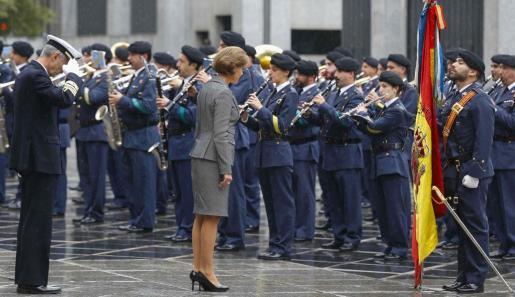 Imagen de archivo de la ministra de Defensa.