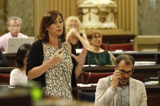 La presidenta del Govern ratifica su confianza en Biel Barceló.