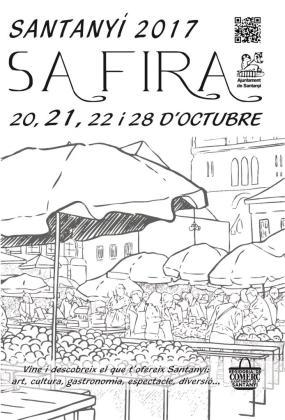 Sa Fira de Santanyí se celebra los días 20, 21, 22 y 28 de octubre.