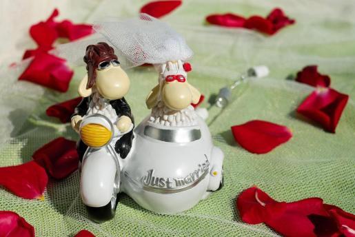Muñeco de boda.