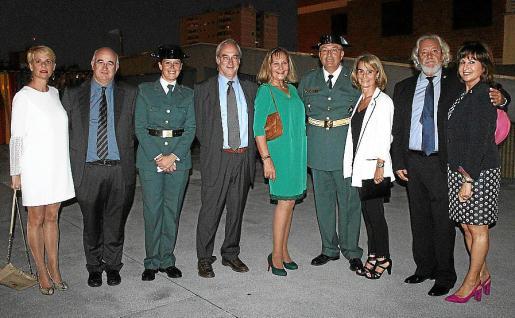 Aina Aguiló, Jaime Morey, Natalia Franco, Ramon Morey, Águeda Ropero, Jaume Barceló, Rosario García-Guillot, Raúl Izquierdo y Rosa Ruesga.