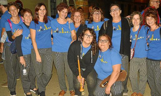 Antònia Hernández, Maria Antònia Hernández, Malen Dols, Xisca Dols, Patricia Bonet, Lucía Darocha, Eva Darocha, Amparo Darocha, Clara Jiménez, Eva Rodríguez y Joana Llabrés.