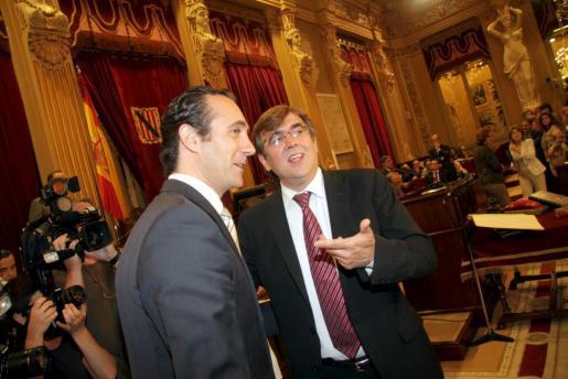 Imagen de archivo de José Ramón Bauzá y Francesc Antich.