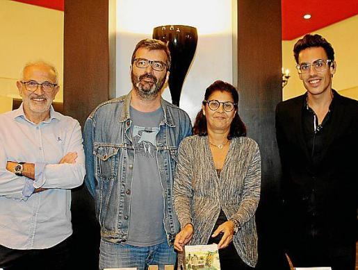 Miguel Ángel Sancho, Toni Vives, Ne Riquelme y Toni Cañellas.