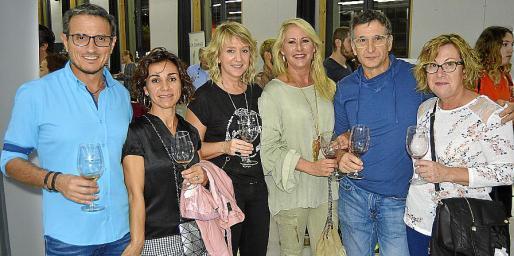 Juan Manuel Henarejos, Rosa Ayerra, Margalida Pujadas, Cati Rosselló, Tomeu Bauçà y Margalida Font.