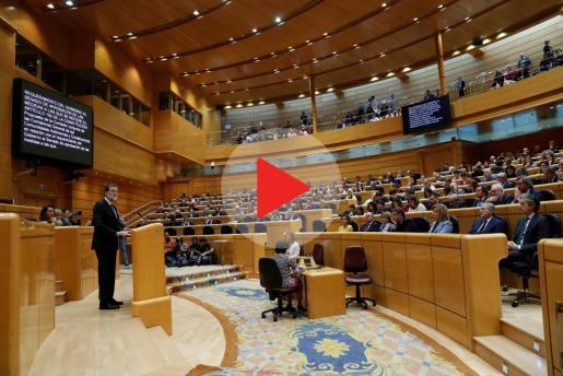 El Senado debate y vota la aplicación del artículo 155.