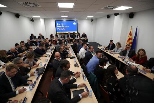 PDeCAT ha celebrado este lunes la reunión del comité nacional.