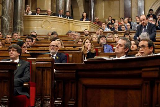 El Gobierno relata ante el Tribunal Constitucional los efectos que a su juicio podría llegar a tener la declaración del Parlament.