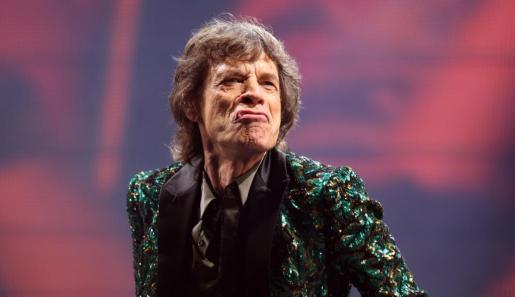 Mick Jagger, durante una actuación de los míticos The Rolling Stones.