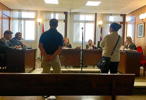 Los dos acusados en el juicio que tuvo lugar en Vía Alemania.