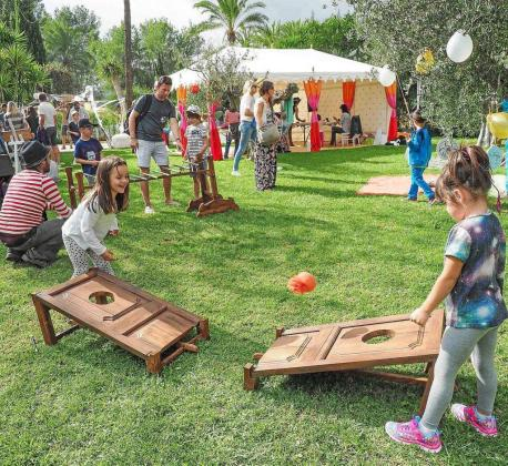 La Hello Winter Party contó con un sinfín de actividades y talleres para que los más pequeños se lo pasaran en grande.