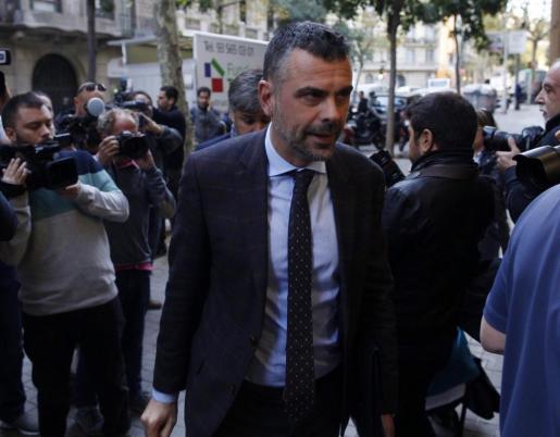 Santi Vila ,a su llegada a la reunión del Comité Nacional del PDeCAT.